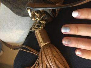 Dashing Diva Magic Press Nails (Mani)  - MDR448SS Maybe You (Short/ Matte) photo review