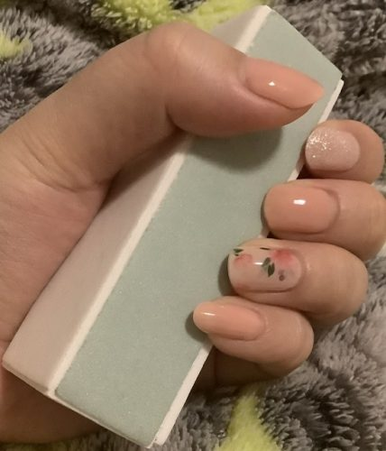 Dashing Diva Gloss Nail Gel Nail Strips (Mani) -GVP156 Purist Pink photo review