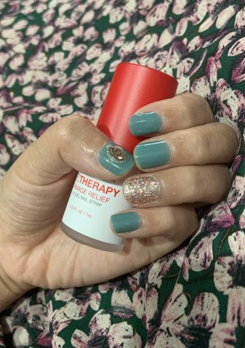Dashing Diva Gloss Nail Gel Nail Strips (Mani) -  GC24  Mint Tea photo review