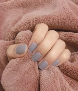 Dashing Diva Gloss Nail Gel Nail Strips (Mani) -  GC10  Colony Blue (100% Real Gel) photo review