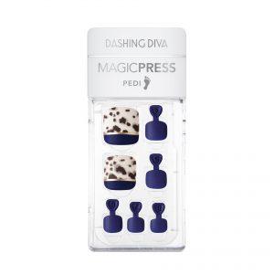 Dashing Diva Magic Press (Pedi) – MDR662P Smudged Leopard