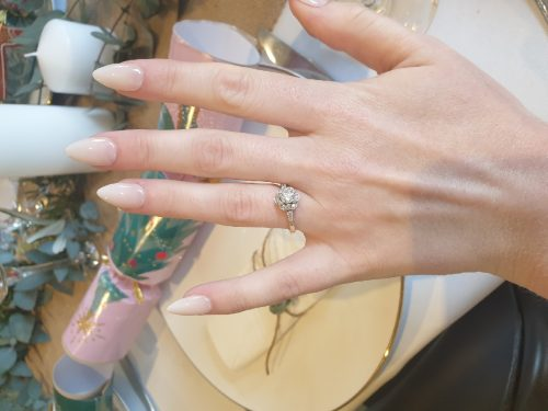 Dashing Diva Magic Press Nails (Mani)  - MAU014ST Clean White (Stiletto) photo review