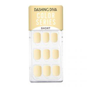 Dashing Diva Magic Press Nails (Mani) -MDR899SS Lemon Chiffon