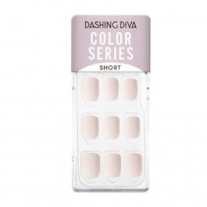 Dashing Diva Magic Press Nails (Mani) -MDR901SS Milk Tea Beige