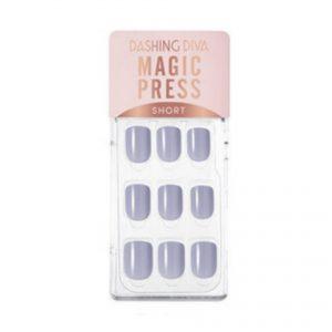 Dashing Diva Magic Press Nails (Mani) -MWK070SS Light Indigo